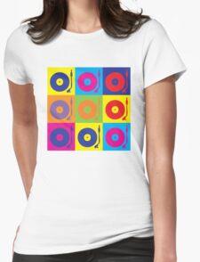 Vinyl Record Player Turntable Pop Art T-Shirt
