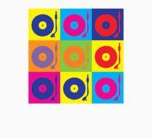 Vinyl Record Player Turntable Pop Art Unisex T-Shirt