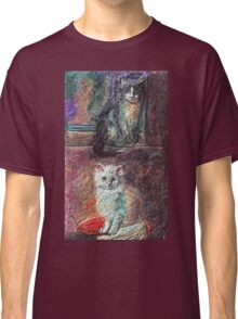 The Cats   My Creations Artistic Sculpture Relief fact Main 51  (c)(h) by Olao-Olavia / Classic T-Shirt