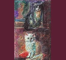 The Cats   My Creations Artistic Sculpture Relief fact Main 51  (c)(h) by Olao-Olavia / Unisex T-Shirt
