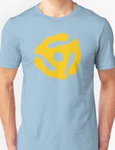 Yellow 45 RPM Vinyl Record Symbol Unisex T-Shirt