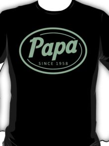 """""""Papa since 1958"""" Collection #41039 T-Shirt"""