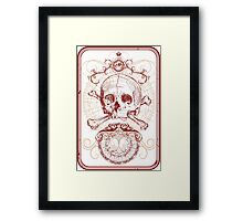 Joker Card Framed Print