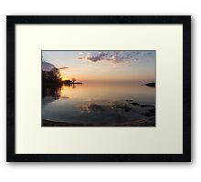 Some Mornings Are Better Than Others... Framed Print