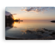 Some Mornings Are Better Than Others... Canvas Print