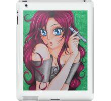 Manga Self-Portrait of Artist iPad Case/Skin