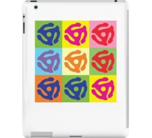 45 RPM Vinyl Record Player Pop Art iPad Case/Skin