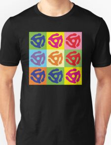 45 RPM Vinyl Record Player Pop Art Unisex T-Shirt