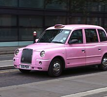 London Cab by RickVink