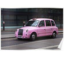 London Cab Poster