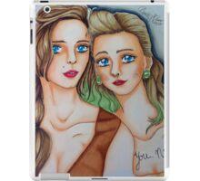 Suicide Girls Portrait  iPad Case/Skin