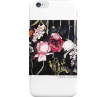 Blooms on Black 5 iPhone Case/Skin