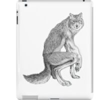 Good werewolf iPad Case/Skin