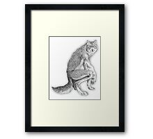 Good werewolf Framed Print