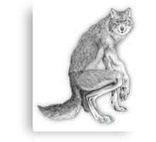 Good werewolf Canvas Print