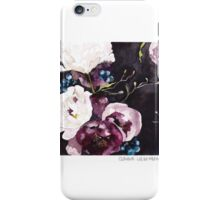 Blooms on Black 6 iPhone Case/Skin