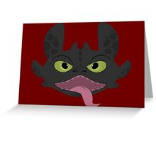 Happy Toothless  Greeting Card