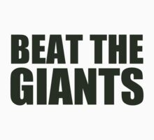Oakland Athletics - BEAT THE GIANTS by MOHAWK99