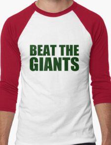 Oakland Athletics - BEAT THE GIANTS Men's Baseball ¾ T-Shirt