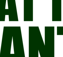 Oakland Athletics - BEAT THE GIANTS Sticker
