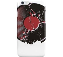 Vinyl Record Pop Art Explosion iPhone Case/Skin