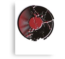 Vinyl Record Pop Art Explosion Canvas Print