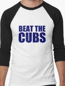 Milwaukee Brewers - BEAT THE CUBS Men's Baseball ¾ T-Shirt