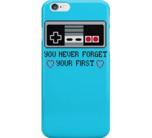 Never Forget Your First Nintendo iPhone Case/Skin