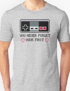 Never Forget Your First Nintendo Unisex T-Shirt