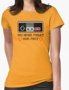Never Forget Your First Nintendo Womens T-Shirt