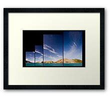 Tory Channel Framed Print