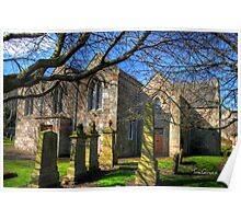 St Mary's at Ratho Poster