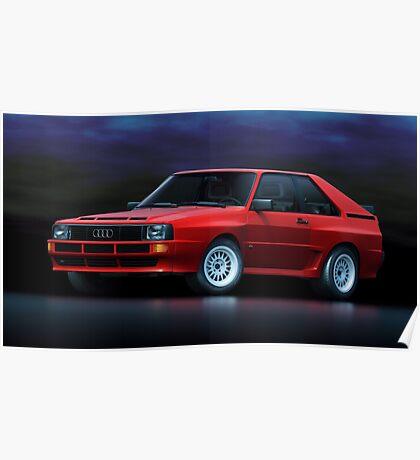 Audi Sport Quattro Poster