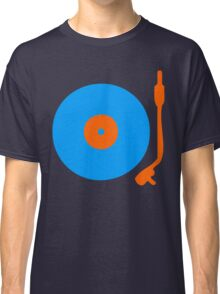 Blue Orange Vinyl Record Turntable Classic T-Shirt