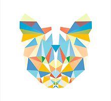 Geometric Diamond Cat by XOOXOO