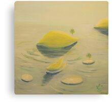 Lemon-Lime Lullaby Canvas Print