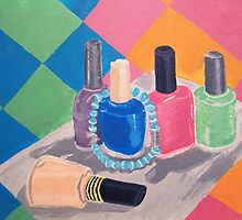 Fingernail Polish Still Life by Clairdelune