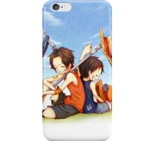 Ace and Ruffy iPhone Case/Skin