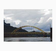Pittsburgh Tour Series - Bridge from River Kids Tee