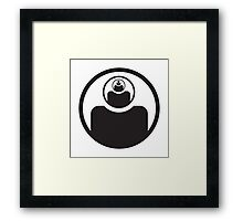 open your third eye Framed Print