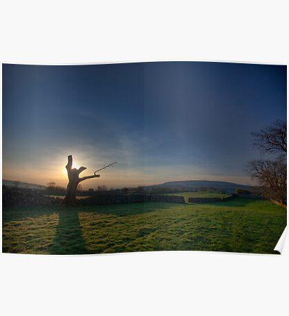 Yorkshire Sunrise Poster