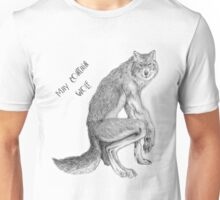 "Good Werewolf - ""May Contain Wolf"" edition Unisex T-Shirt"