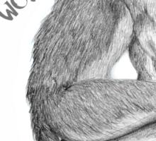 "Good Werewolf - ""May Contain Wolf"" edition Sticker"
