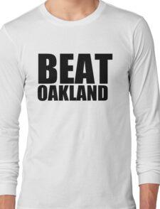 San Francisco Giants - BEAT OAKLAND Long Sleeve T-Shirt