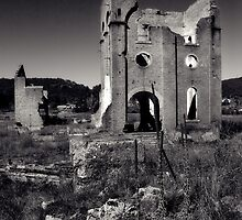 Blast Furnace ruin 4 Lithgow NSW by ozzzywoman