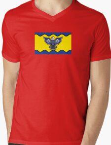 Flag of Burnaby  Mens V-Neck T-Shirt