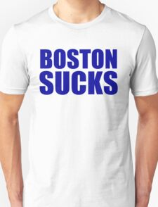 Tampa Bay Rays - BOSTON SUCKS T-Shirt