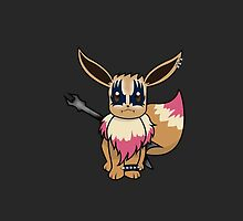 Eevee Metal by alwaidd