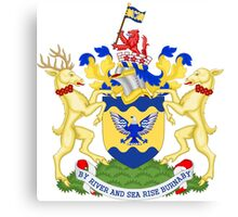 Burnaby Coat of Arms  Canvas Print