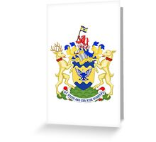 Burnaby Coat of Arms  Greeting Card